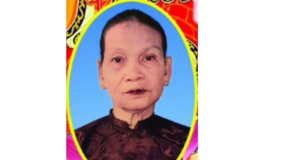 Tin buồn Bà mẹ Việt Nam anh hùng NGUYỄN THỊ HAI