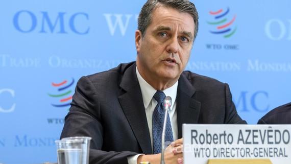 Tổng Giám đốc WTO Roberto Azevedo. Ảnh: AP