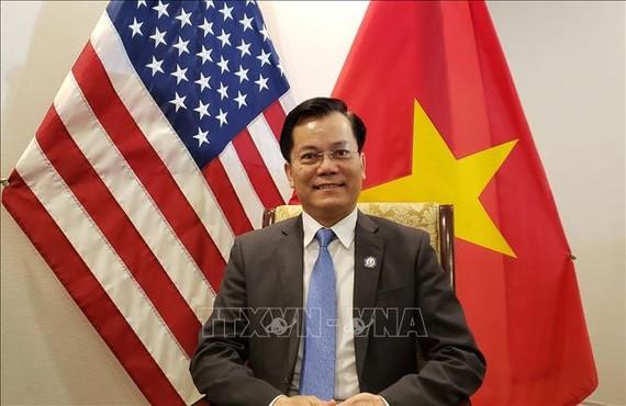 Đại sứ Việt Nam tại Hoa Kỳ Hà Kim Ngọc. Ảnh: TTXVN