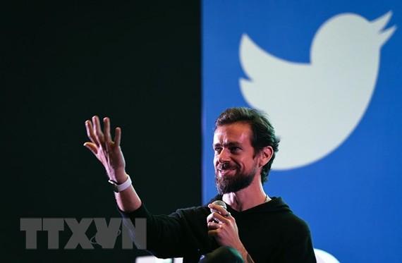 Giám đốc điều hành (CEO) của mạng xã hội Twitter, Jack Dorsey. Ảnh: AFP/TTXVN