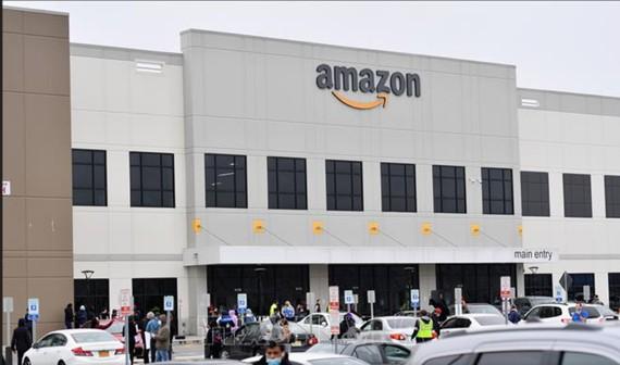 Một chi nhánh Amazon tại Staten, Mỹ. Ảnh: AFP/TTXVN Ảnh:
