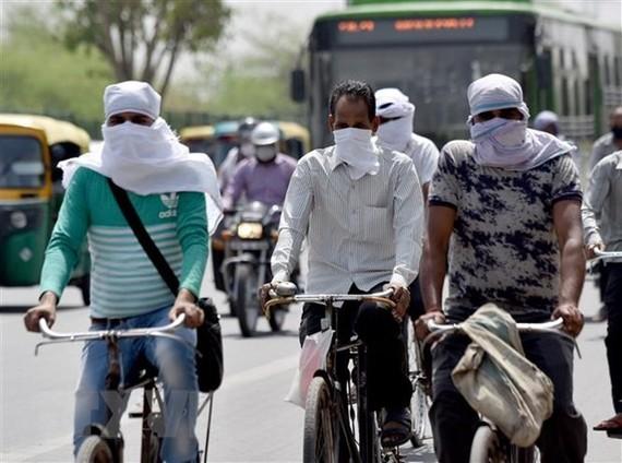Đường phố ở New Delhi ngày 27/5 vừa qua. Ảnh: ANI/TTXVN