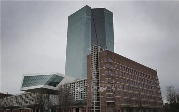 Trụ sở Ngân hàng Trung ương Châu Âu ECB tại Đức. Ảnh: AFP/TTXVN