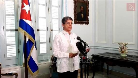 Vụ trưởng các vấn đề về Mỹ thuộc Bộ Ngoại giao Cuba (Minrex) Carlos Fernandez de Cossio. Ảnh: AFP/TTXVN