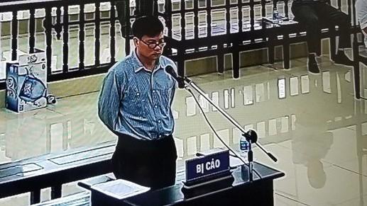 Bị cáo Trương Duy Nhất tại phiên toà phúc thẩm