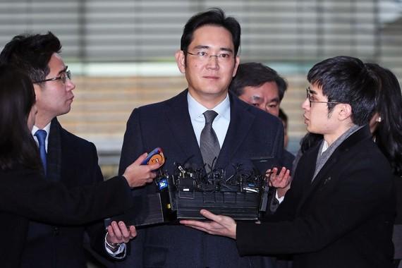 Phó Chủ tịch Samsung Electronics, ông Jay Y. Lee. Ảnh: Bloomberg
