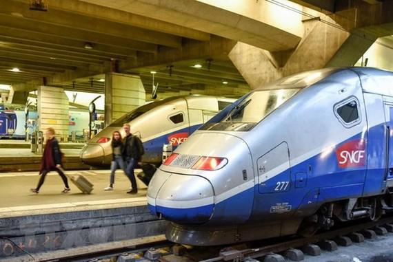 Một tuyến đường sắt cao tốc. Ảnh: TTXVN