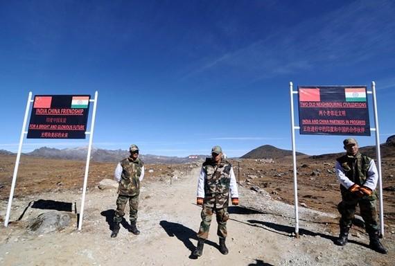 Khu vực biên giới Ấn Độ-Trung Quốc. Nguồn: AFP