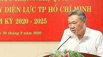 Ông Phạm Quốc Bảo, Bí thư Đảng ủy, Chủ tịch Hội đồng thành viên EVNHCMC chỉ đạo tại hội nghị