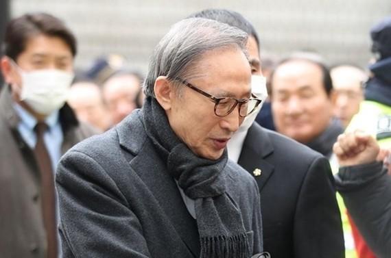 Ông Lee Myung-bak. Ảnh: Yonhap