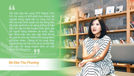 VTV Digital cùng Cốc Cốc phân phối nội dung truyền hình số