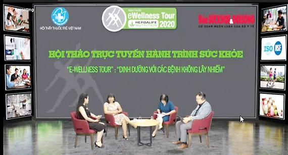 """Herbalife Việt Nam tổ chức hội thảo trực tuyến """"Hành trình Sức khỏe"""""""