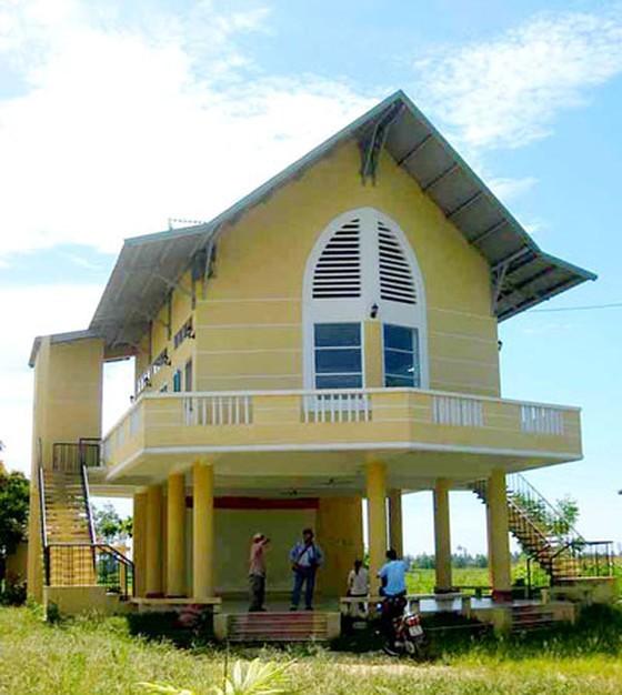 Nhà trú ẩn đa năng (phường Hòa Quý, Đà Nẵng) một giải pháp được lựa chọn cho việc chung sống an toàn với lũ