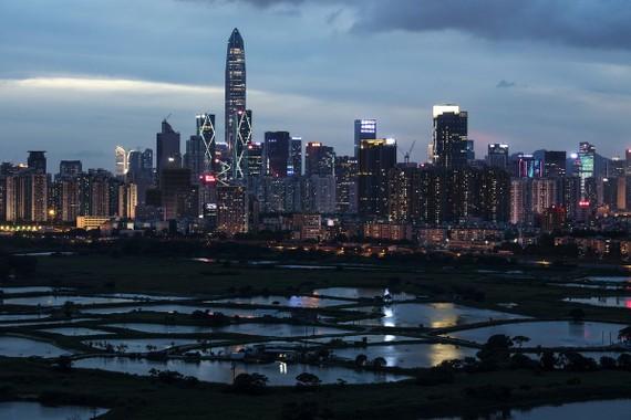 Thành phố Thâm Quyến, tỉnh Quảng Đông. Ảnh: Bloomberg