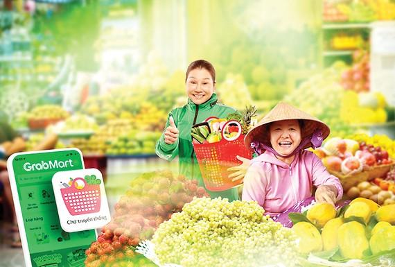 Grab triển khai Số hóa chợ truyền thống