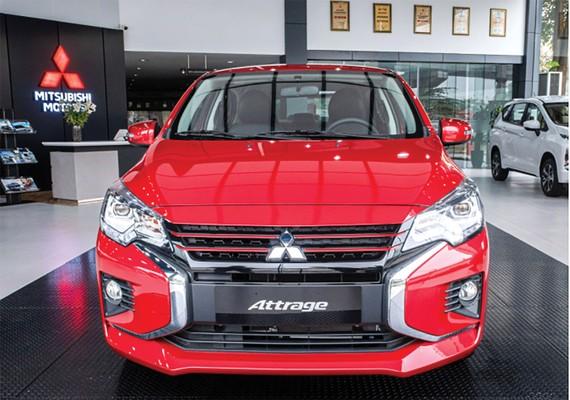 New Attrage CVT Premium an toàn và tiện nghi hơn