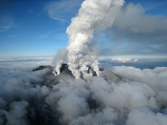 Núi lửa Otake. Nguồn: EPA