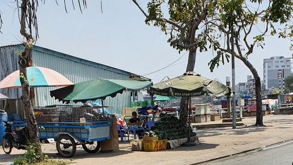 Buôn bán lấn chiếm lề đường, phát loa ồn ào