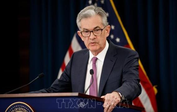 Chủ tịch Cục Dự trữ liên bang Mỹ (FED) Jerome Powell. Ảnh: THX/TTXVN