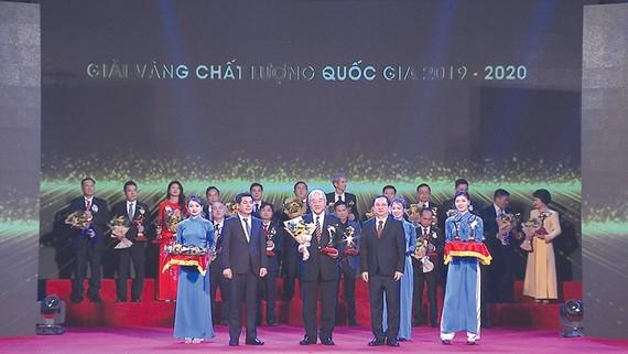 Acecook Việt Nam nhận Giải vàng - Giải thưởng Chất lượng Quốc gia 2020