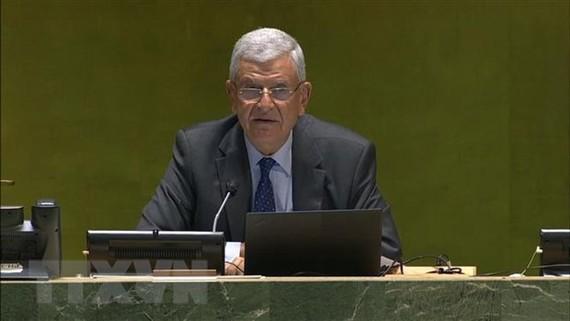 Chủ tịch Đại hội đồng Liên hợp quốc Volkan Bozkir. Nguồn: TTXVN
