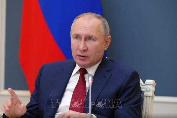 Tổng thống Vladimir Putin. Ảnh: AFP/ TTXVN