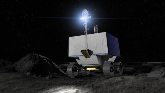 Tìm băng trên Mặt trăng