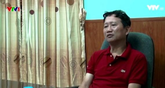 Hình ảnh Trịnh Xuân Thanh ra đầu thú tại Cơ quan An ninh điều tra, Bộ Công an