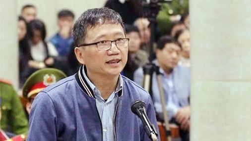 Trịnh Xuân Thanh không thừa nhận hành vi tham ô tài sản