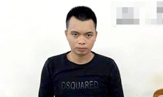 Nghi phạm Hà Phúc Đạt bị bắt giữ sau khi dùng súng bắn một tài xế taxi để cướp xe