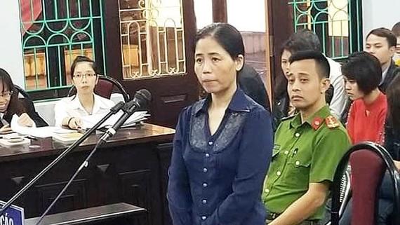Bị cáo Hoàng Thị Hiền phải lĩnh án 10 năm tù