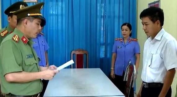 Bị can Trần Xuân Yến bị bắt tạm giam