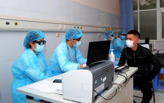 Tăng cường phòng chống lây nhiễm dịch bệnh trong một bệnh viện ở Hà Nội