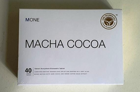 Trà giảm béo MONE Macha Cocoa có chất cấm nguy hại