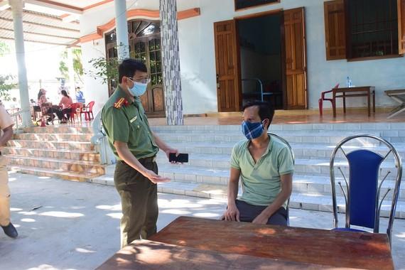 Công an làm việc với tài xế Trương Thanh Minh