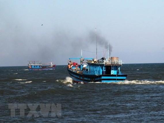 Tàu cá của ngư dân Việt Nam ra khơi đánh bắt cá. Ảnh: TTXVN