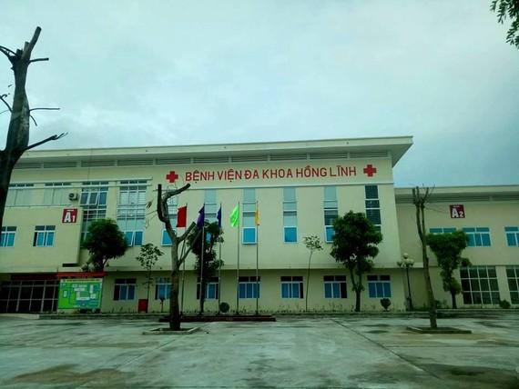 Bệnh viện Đa khoa thị xã Hồng Lĩnh, tỉnh Hà Tĩnh - nơi để xảy ra nhầm lẫn đáng tiếc