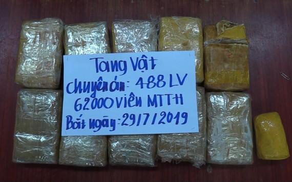 Tang vật ma túy bị thu giữ