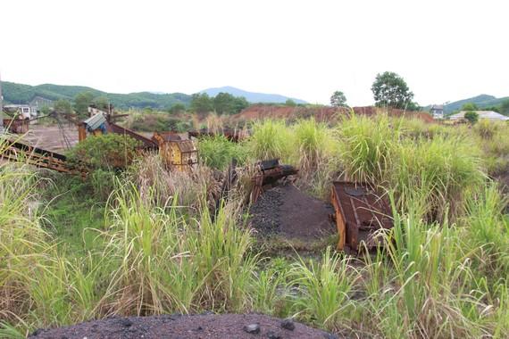 Khai thác tuyển quặng sắt Vũ Quang không đáp ứng được như kỳ vọng ban đầu
