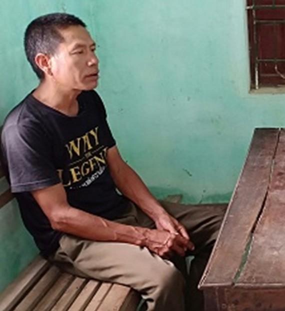 Phan Đình Thành thời điểm khai báo vụ việc tại cơ quan công an