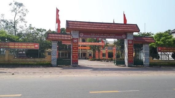 Trụ sở UBND xã Thạch Bằng (cũ), huyện Lộc Hà, tỉnh Hà Tĩnh