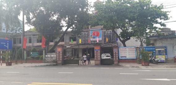 Trụ sở UBND thị trấn Xuân An, huyện Nghi Xuân, tỉnh Hà Tĩnh