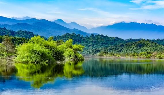 Một góc Vườn Quốc gia Vũ Quang. Ảnh: vuonquocgiavuquang