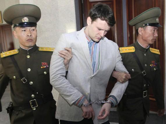 Otto Warmbier, một sinh viên Mỹ cũng đang bị giam giữ tại Triều Tiên. Ảnh: Getty