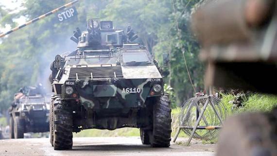 Quân đội Philippines tăng cường lực lượng chống khủng bố ở Marawi