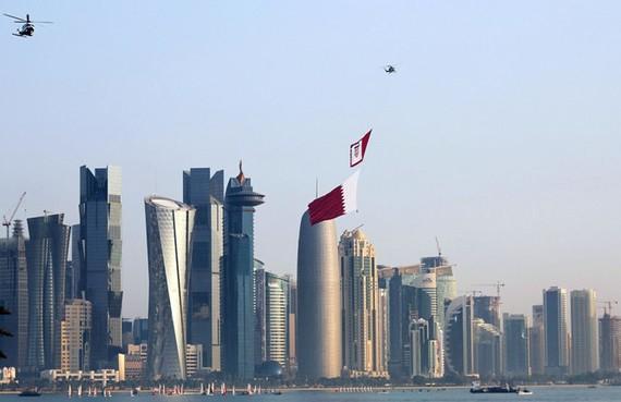 Thủ đô Doha của Qatar. Ảnh: BLOOMBERG