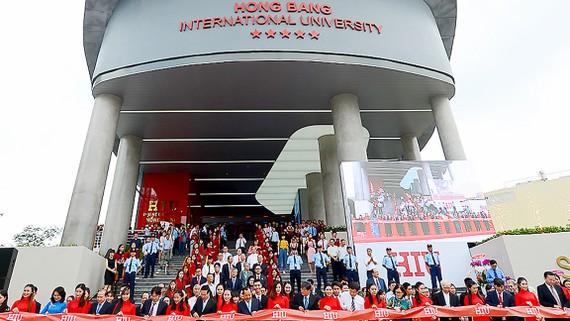 Trường Đại học Quốc tế Hồng Bàng khánh thành cơ sở mới tại quận Bình Thạnh