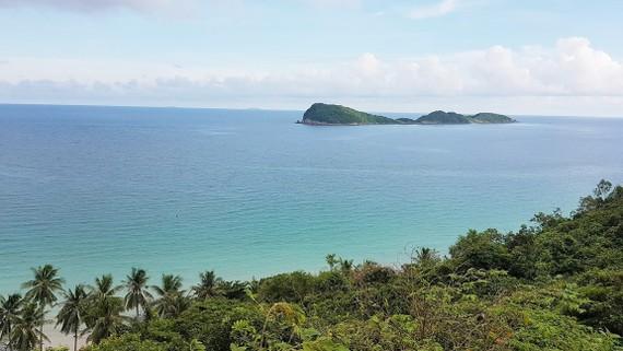 Cảnh thanh bình trên biển đảo Nam Du