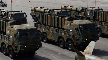 Tên lửa đạn đạo Hyunmoo-3 and Hyunmoo-2 của Hàn Quốc. Ảnh REUTERS