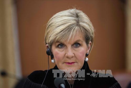 Ngoại trưởng Julie Bishop đảm nhận vị trí Phó Thủ tướng tạm quyền. (Nguồn TTXVN)